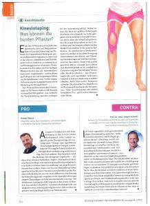 Kinesiotape Bericht Sportmedizin 2_2015
